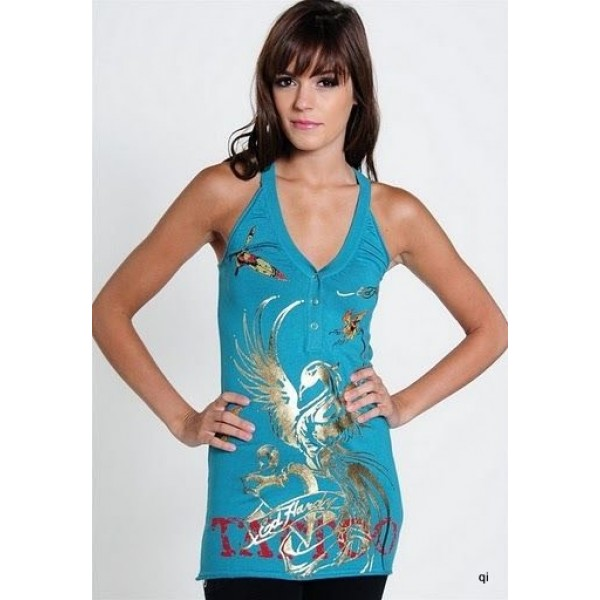 Blue Phoenix Ed Hardy Womens Dresses Outlet