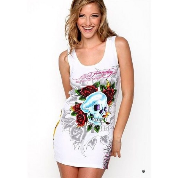Where To Buy White Ed Hardy Dresses For Women