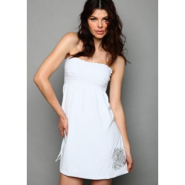 White Womens Ed Hardy Cheap Christian Dresses