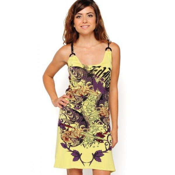 Yellow Ed Hardy Dresses For Women Canada